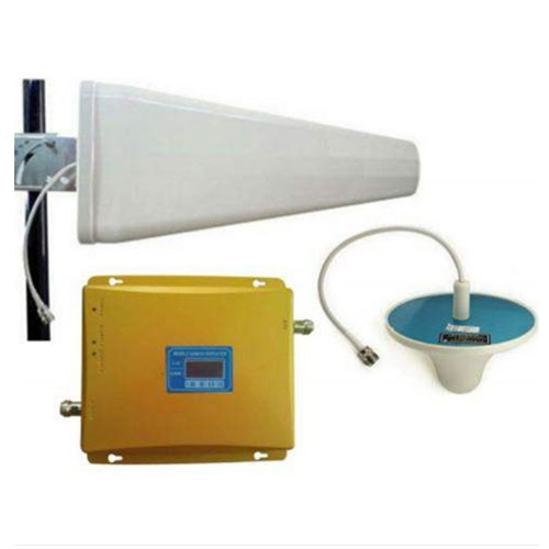 Dualband Mobile Signal Booster (One Set) 2G/4G Out & In Door Antenna